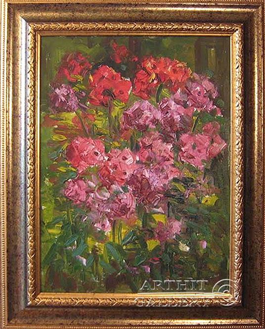 'Composition of warm red'. Sotnikov Yuriy Vasilyevich