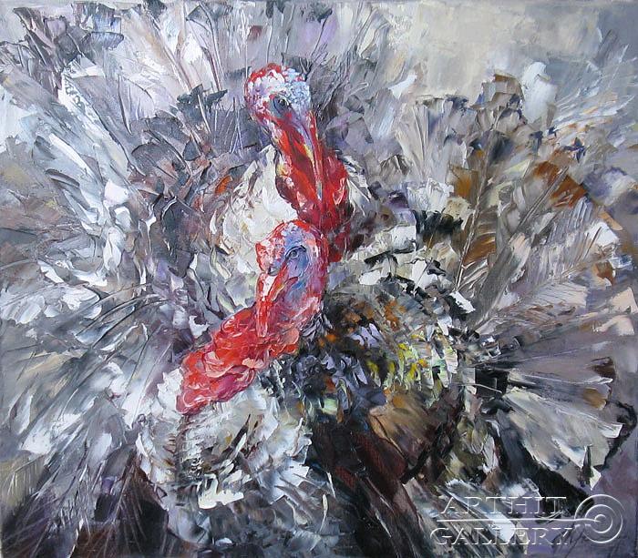 ''Фанфароны''.  Кравченко Оксана. Продажа картин, предметов декоративно-прикладного искусства
