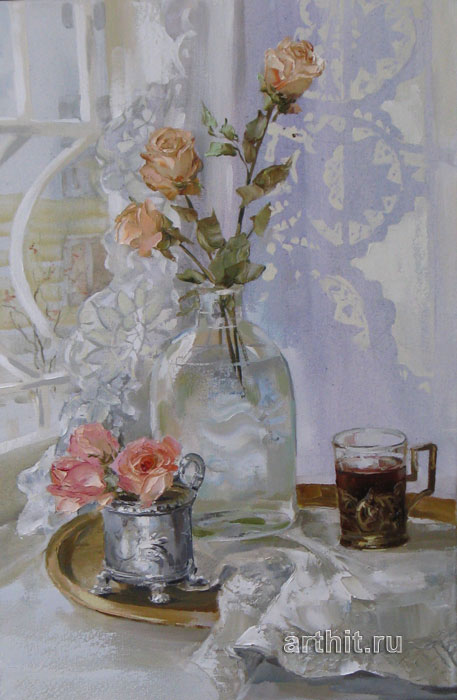 'Winter flowers'. Kravchenko Oksana