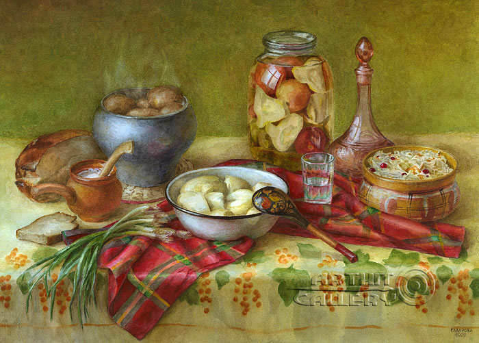 'Lunch time'. Gazarova Larisa
