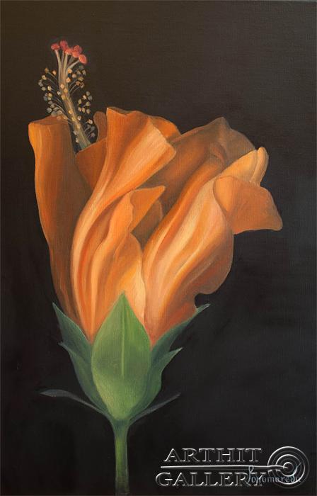 'Hibiscus'. Ponomareva Natalya