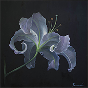 Oil paintings for sale. Natalya Ponomareva. `Lunar flower`
