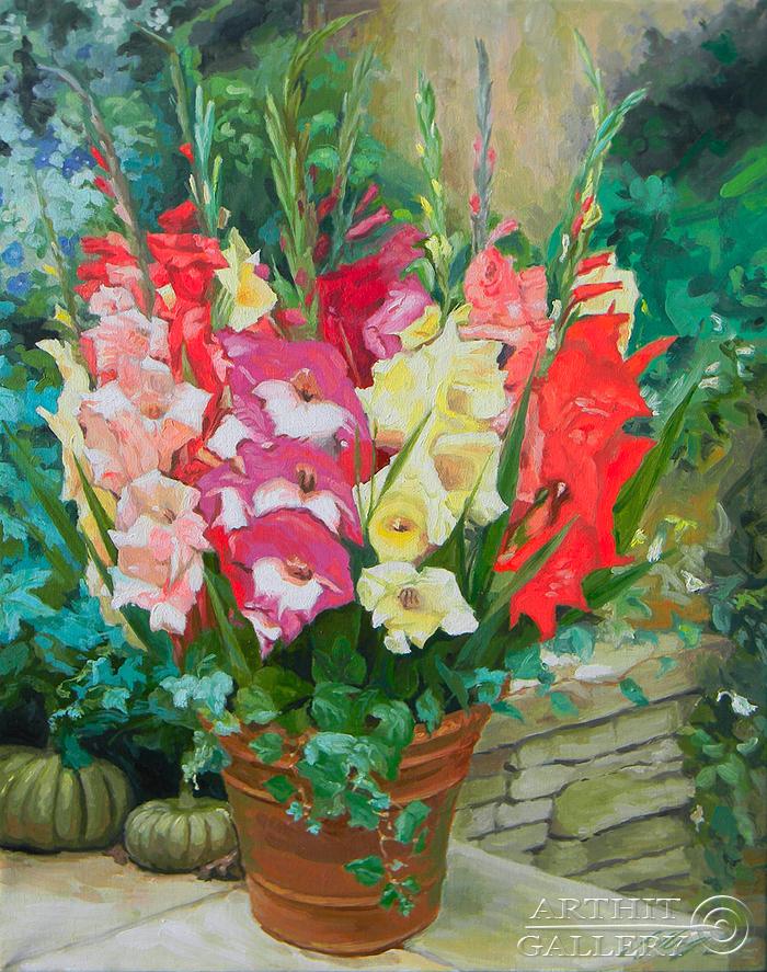 'Gladioli'. Morozov Anatoliy