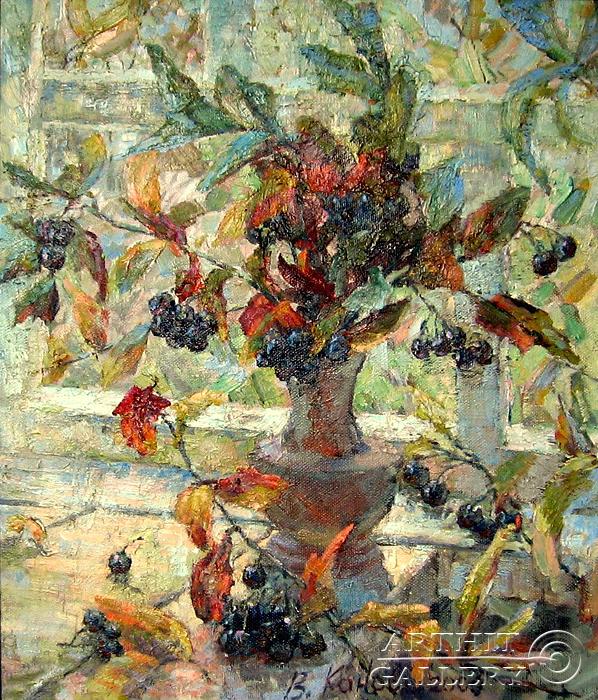 'Still life `Black ash`'. Kanov Varus
