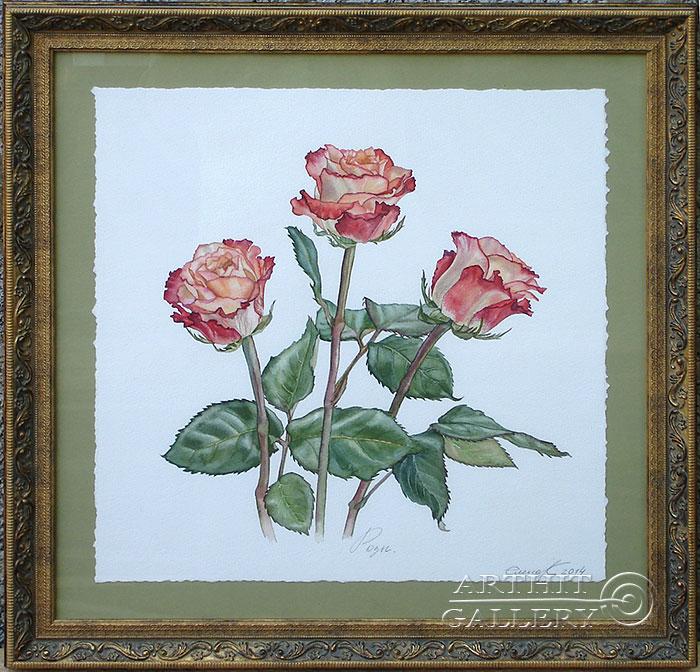 'Roses'. Kaliberda Elena