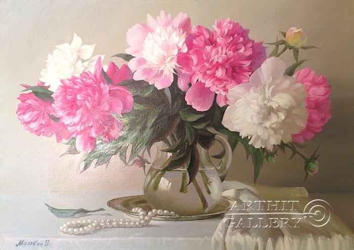 Живопись цветы картины маслом
