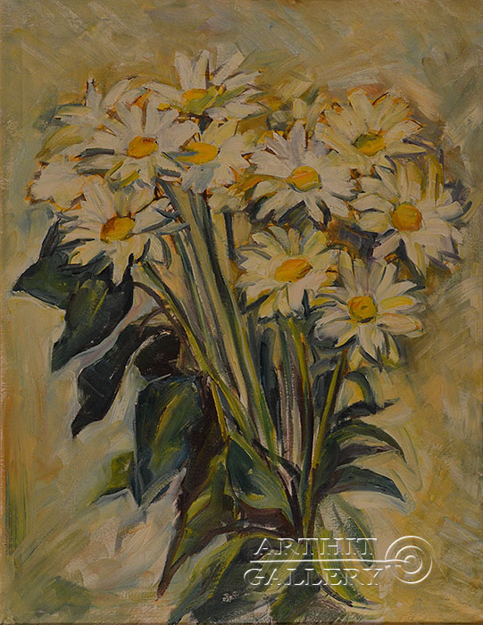 ''Ромашки''.  Оганесян Асмик. Продажа картин, предметов декоративно-прикладного искусства
