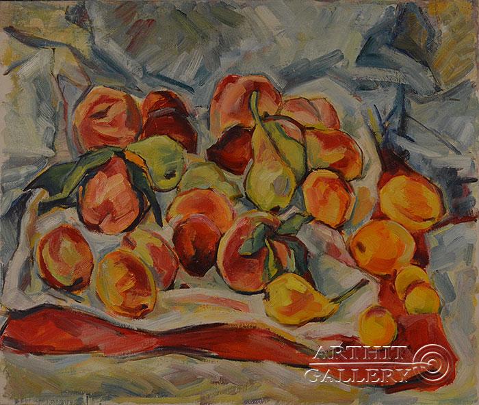 ''Натюрморт''.  Оганесян Асмик. Продажа картин, предметов декоративно-прикладного искусства