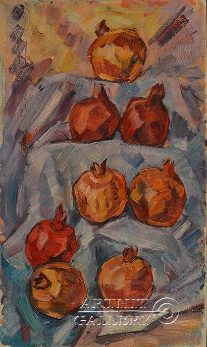 ''Гранат''.  Оганесян Асмик. Продажа картин, предметов декоративно-прикладного искусства