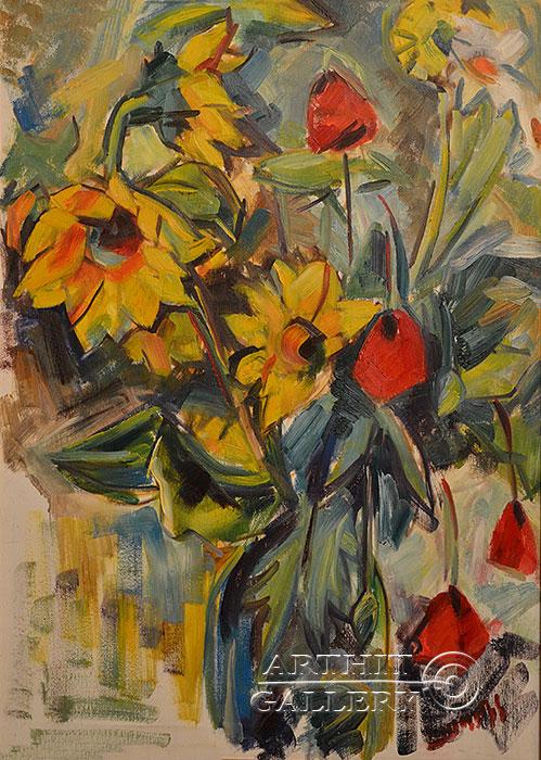'Flowers'. Hovhannisyan Hasmik