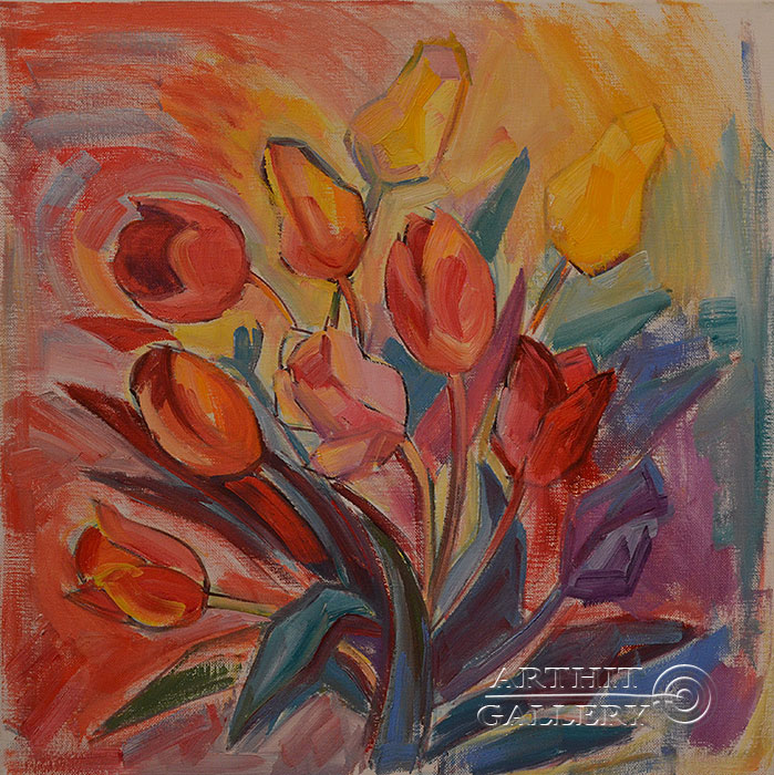 'Tulips'. Hovhannisyan Hasmik