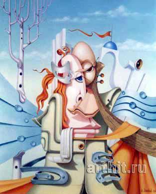 ''Узел''.  Лямкин Александр. Продажа картин, предметов декоративно-прикладного искусства