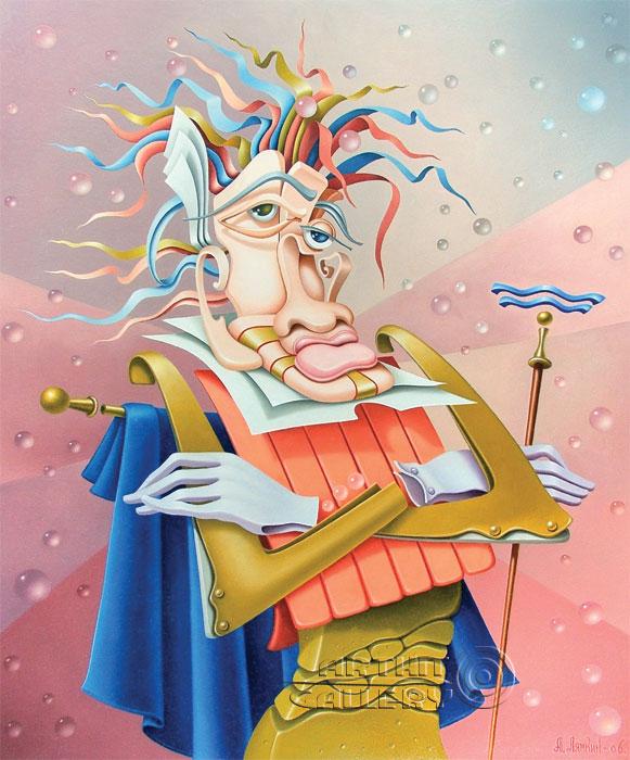 ''Водолей''.  Лямкин Александр. Продажа картин, предметов декоративно-прикладного искусства