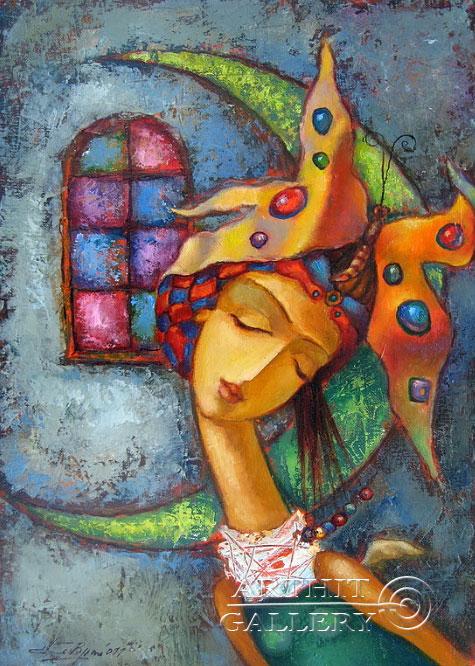 ''Мечта''.  Ковриго Сергей. Продажа картин, предметов декоративно-прикладного искусства