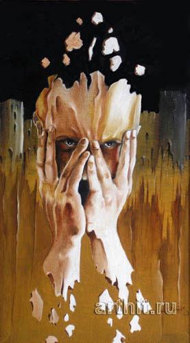 ''Мыслительный процесс''.  Чеботарев Александр. Продажа картин, предметов декоративно-прикладного искусства