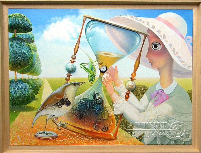 ''Равновесие''.  Риис Виктор. Продажа картин, предметов декоративно-прикладного искусства