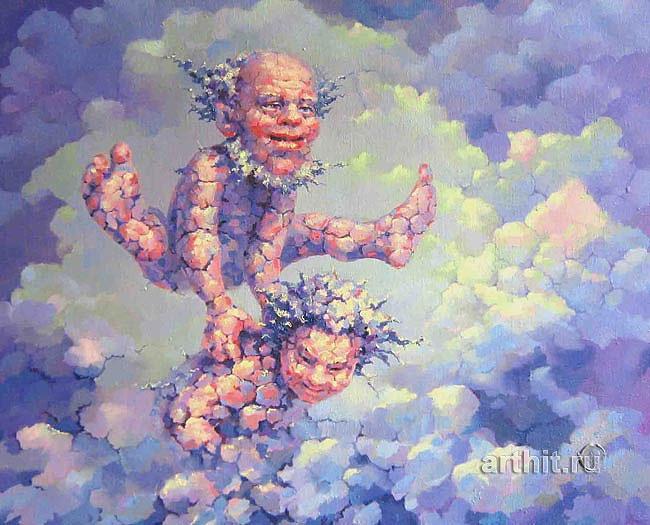 ''Чехарда''.  Катющик Виктор. Продажа картин, предметов декоративно-прикладного искусства