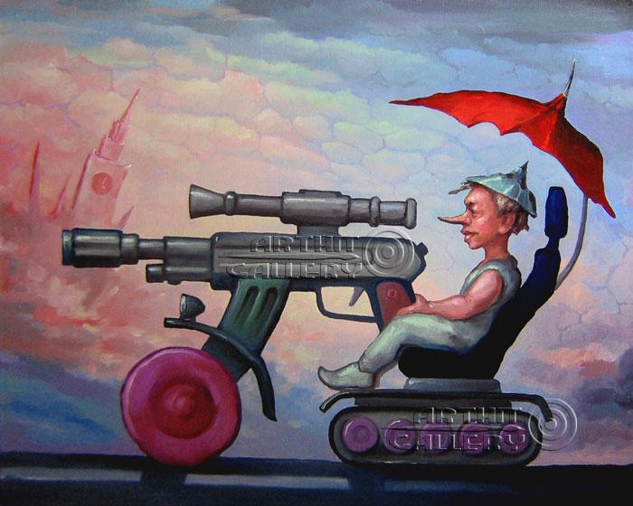 ''Вояка''.  Катющик Виктор. Продажа картин, предметов декоративно-прикладного искусства