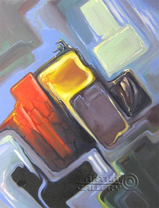 ''Тропик центр''.  Катющик Виктор. Продажа картин, предметов декоративно-прикладного искусства