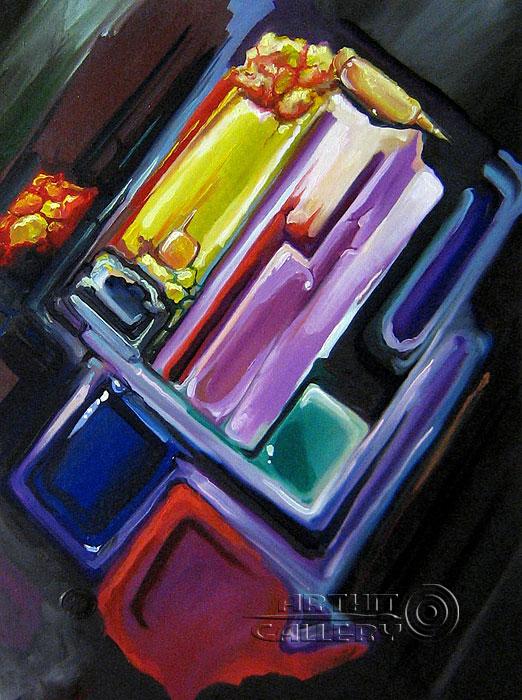''Содержание самоцвета''.  Катющик Виктор. Продажа картин, предметов декоративно-прикладного искусства