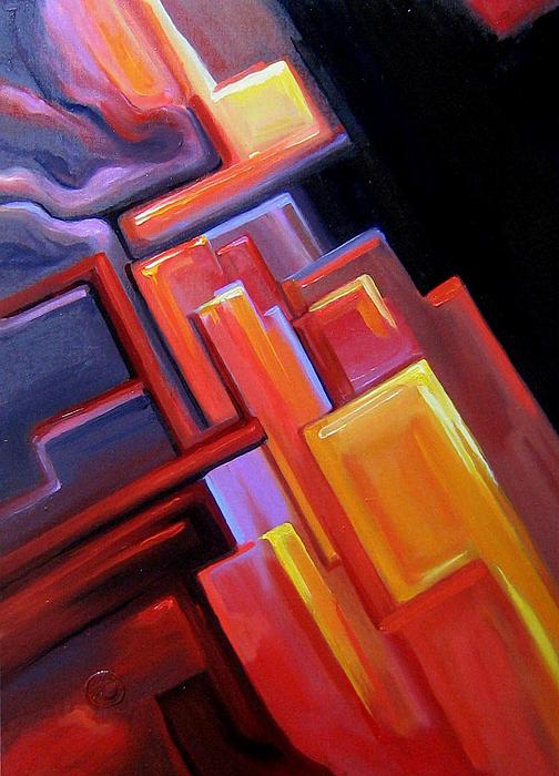 ''Красный цвет''.  Катющик Виктор. Продажа картин, предметов декоративно-прикладного искусства