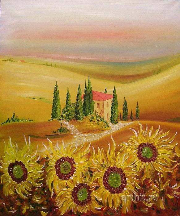 'Tuscany'. Lomovtzev Konstantin