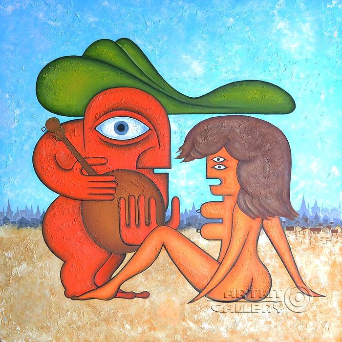 'Man and Woman'. Lomovtzev Konstantin