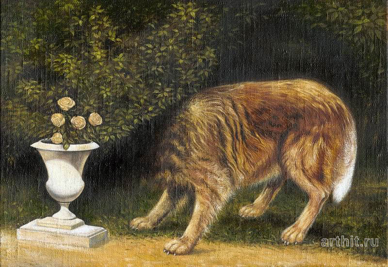 'Disappearing dog'  by Lysenko Igor