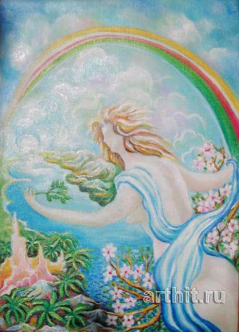 'Angelic Vision'  by Segantin Sergio