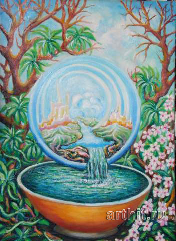 'Clear water'  by Segantin Sergio