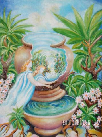 'Spiritual source'  by Segantin Sergio