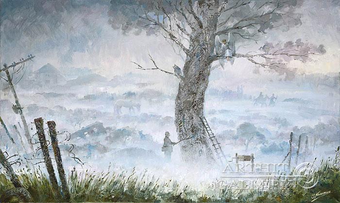 'In the mist'. Kalinin Vladimir