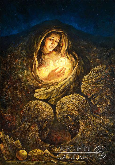'Adoration of the Magi'. Kalinin Vladimir