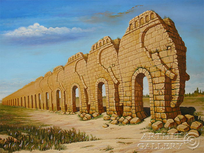 'The Aqueduct Elephants'. Privedentsev Gennady