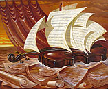 Surrealism oil paintings