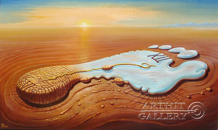 'Footprints of time'. Privedentsev Gennady