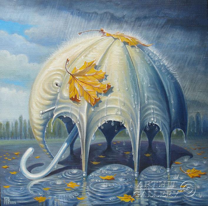 'Elephant of rain'. Privedentsev Gennady