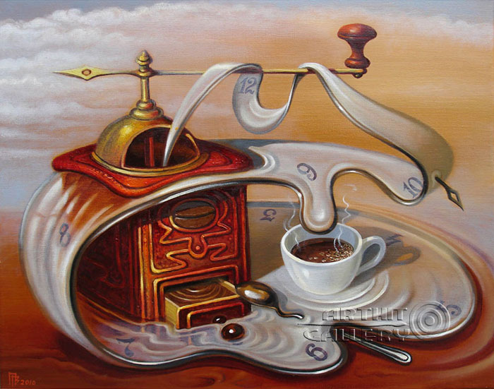 'Coffee time'. Privedentsev Gennady