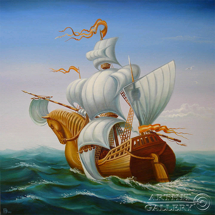 'Knight of Seas'. Privedentsev Gennady