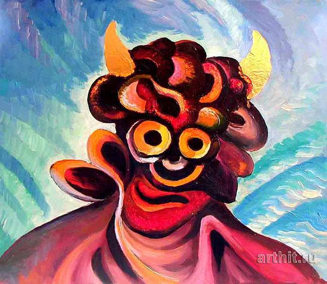 ''Лицо''.  Хохлов Иван. Продажа картин, предметов декоративно-прикладного искусства
