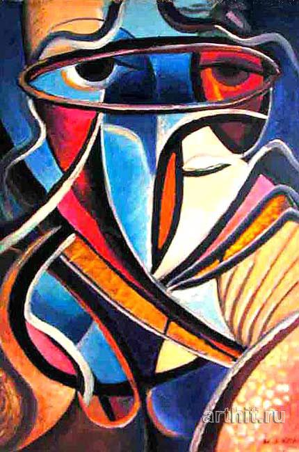 ''Взгляд''.  Хохлов Иван. Продажа картин, предметов декоративно-прикладного искусства