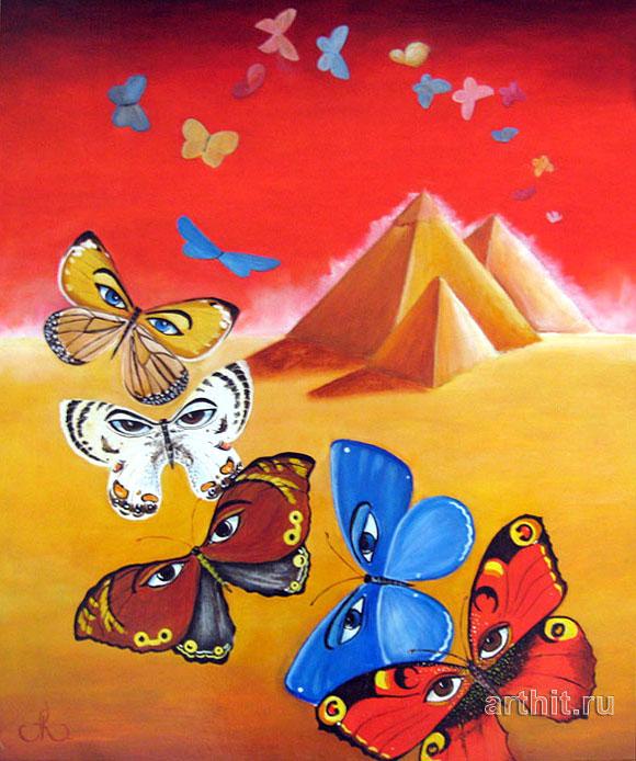 'Red sky of Egypt'  by Kokovina Angelina