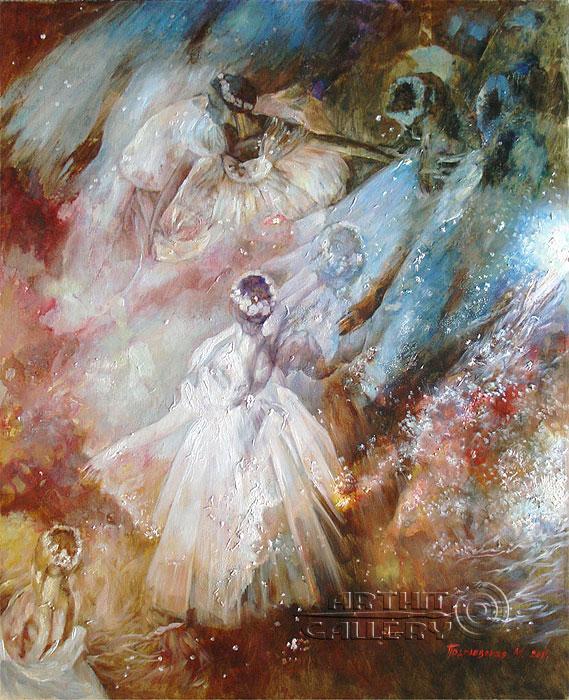 ''Балет''.  Подгаевская Марина. Продажа картин, предметов декоративно-прикладного искусства