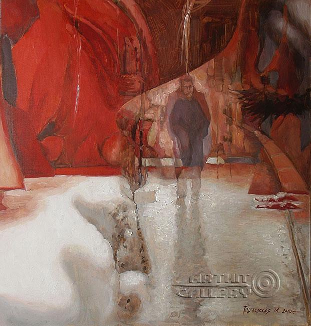 ''Средство от одиночества''.  Подгаевская Марина. Продажа картин, предметов декоративно-прикладного искусства