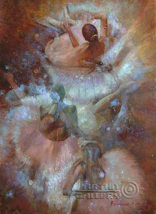 ''Балерины''.  Подгаевская Марина. Продажа картин, предметов декоративно-прикладного искусства