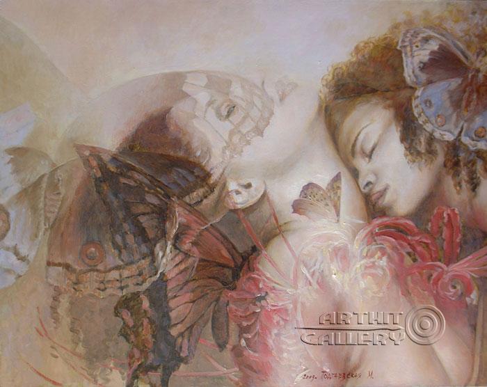 ''Любовь''.  Подгаевская Марина. Продажа картин, предметов декоративно-прикладного искусства