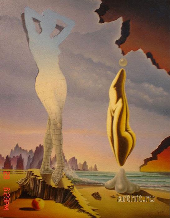 ''Женщина''.  Ломюллер Дьюри. Продажа картин, предметов декоративно-прикладного искусства