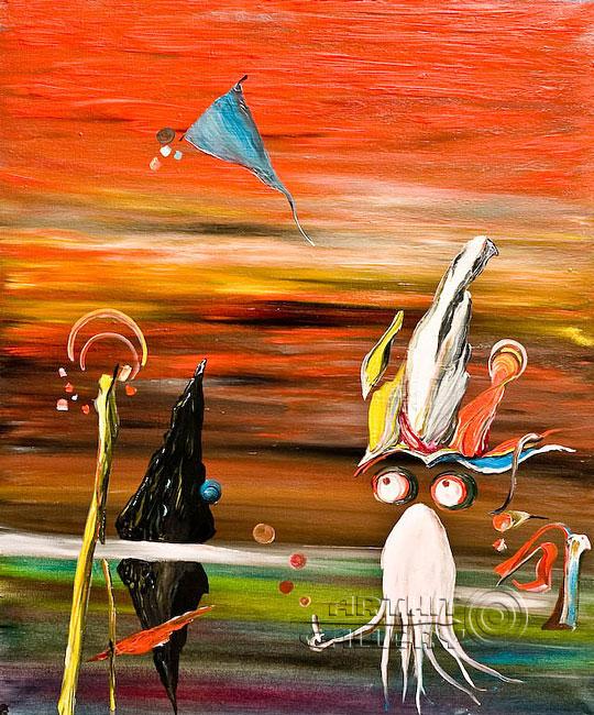 ''Синбад Мореход''.  Гуральник Антон. Продажа картин, предметов декоративно-прикладного искусства