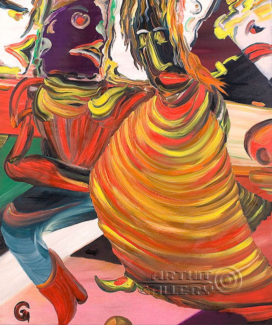 ''Прогулка молодого Вертера''.  Гуральник Антон. Продажа картин, предметов декоративно-прикладного искусства