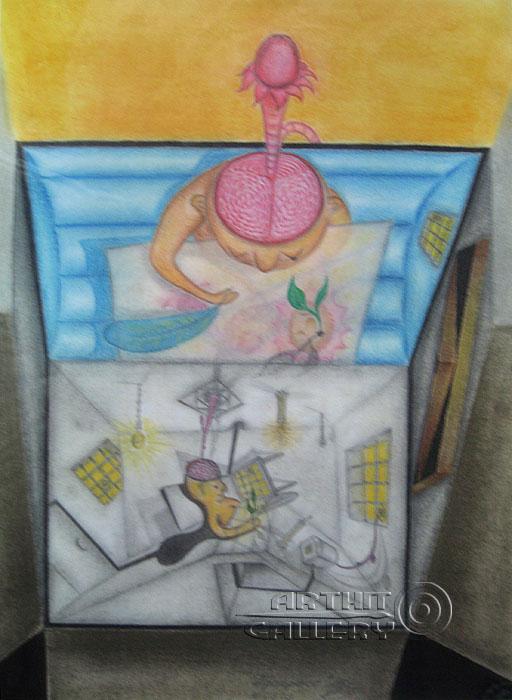''Прогресс''.  Тенигин Артем. Продажа картин, предметов декоративно-прикладного искусства